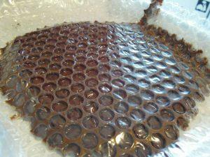 recette du papier bulle au chocolat le blog enveloppebulle. Black Bedroom Furniture Sets. Home Design Ideas